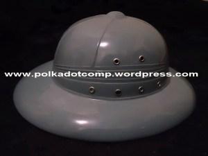 Topi onthel/ polkah/ topi demang warna abu-abu